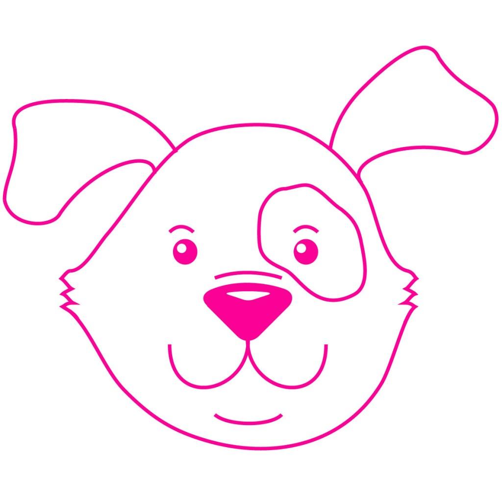 Logo Meisje Eigenwijsje - hond