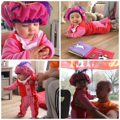 sinterklaas vieren met een baby