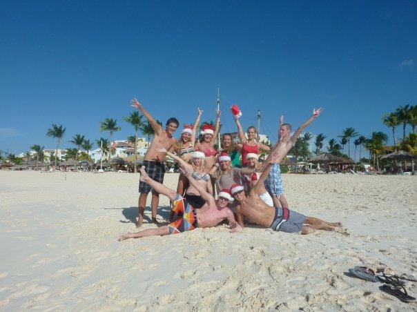 kerst op aruba