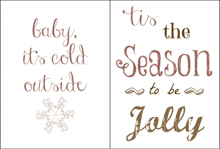 gratis winter printables