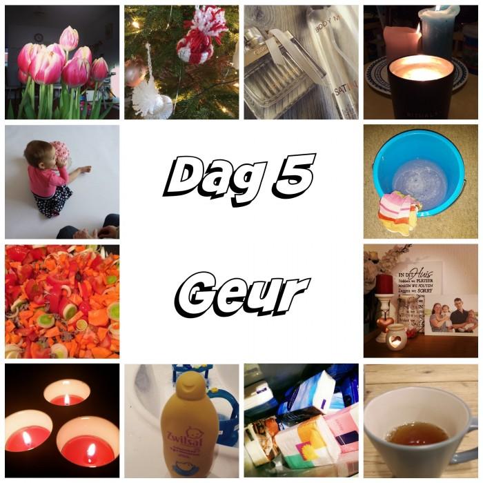 Dag 5 Geur Collage