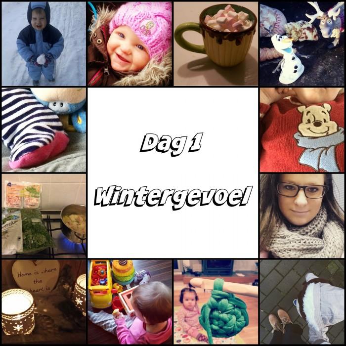Wintergevoel collage