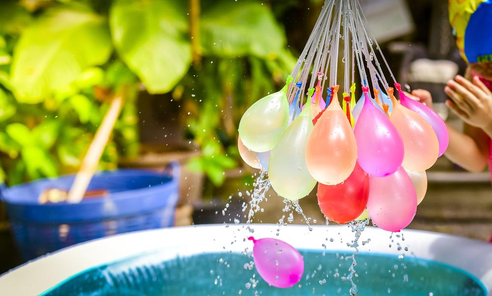 7x spelletjes met waterballonnen