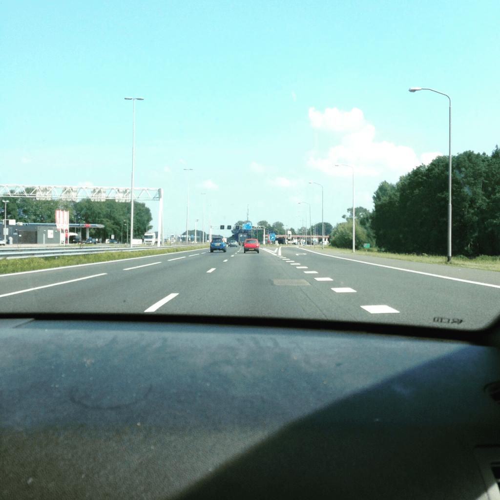 onderweg
