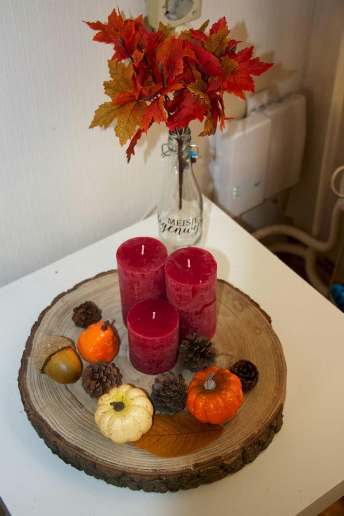 De herfst in huis halen budget meisje eigenwijsje for Versiering taart zelf maken