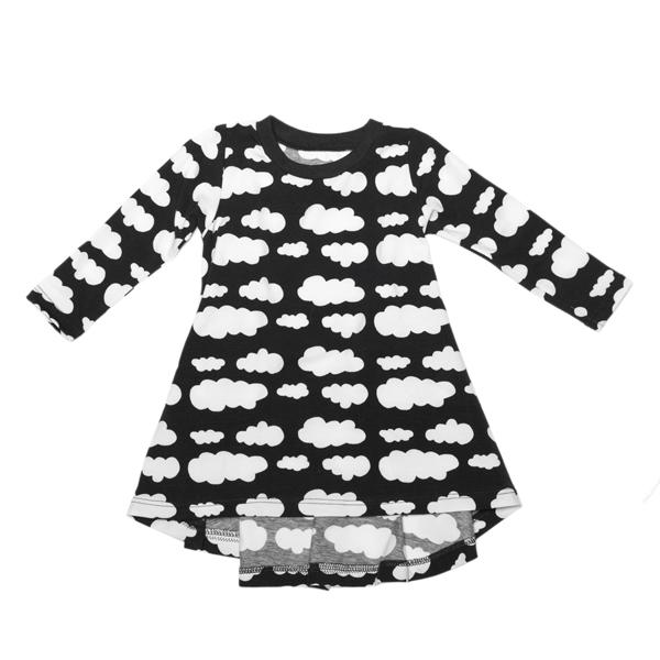 Dress Black Clouds
