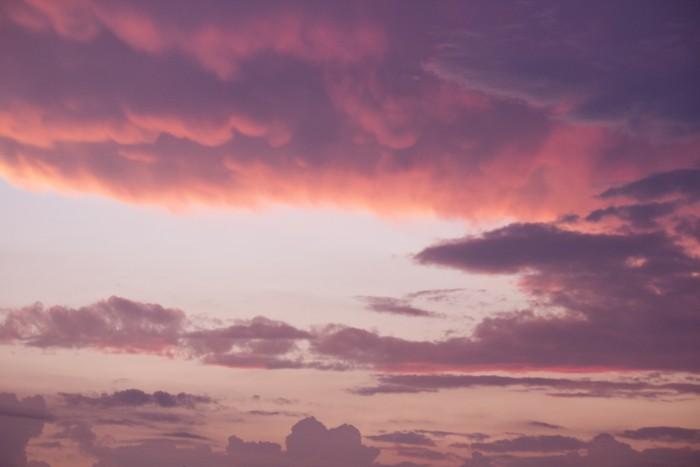 roze wolk ontbreekt