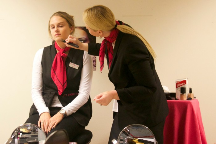 make-up workshop Ici Paris XL