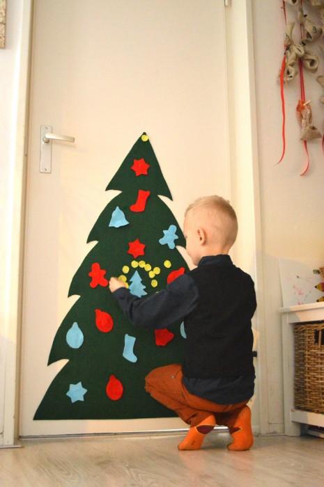 kerstboom vilt kinderen