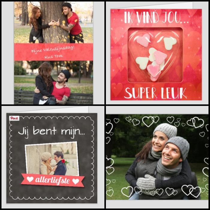 valentijnskaarten kaartwereld