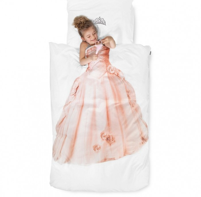 dekbedovertrek prinses snurk