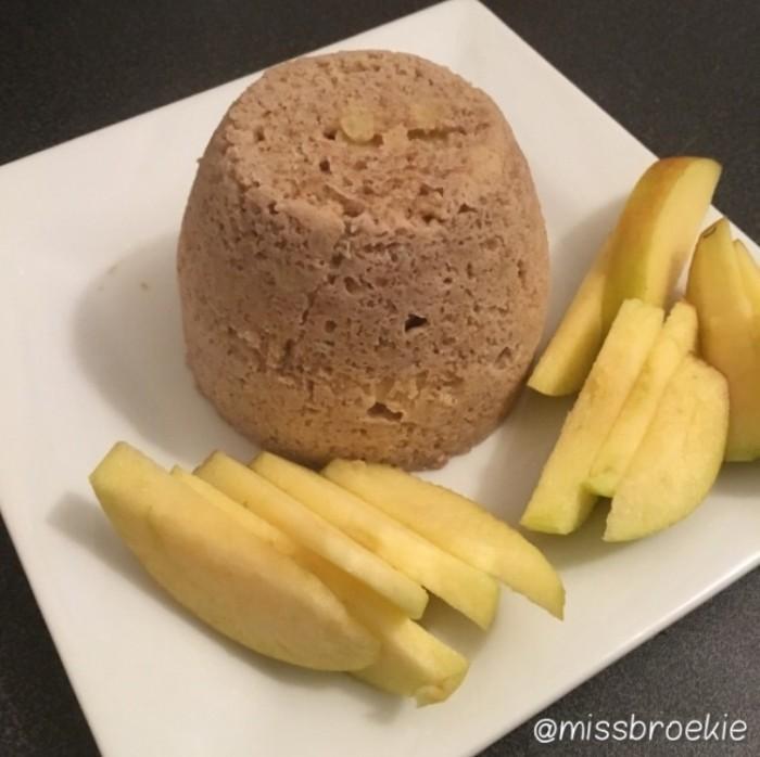 mugcake appel kaneel