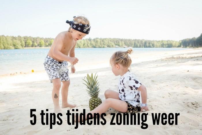 tips tijdens zonnig weer vakantietips