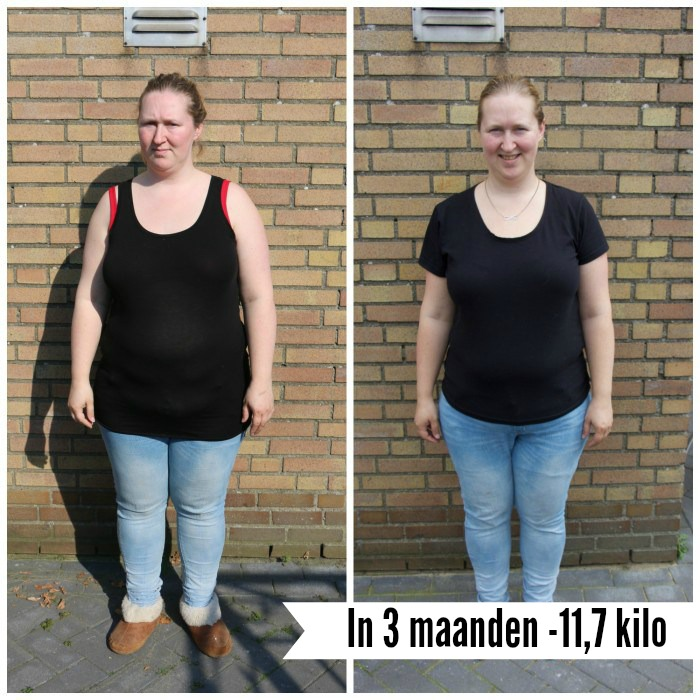 10 kg afvallen in 3 maanden