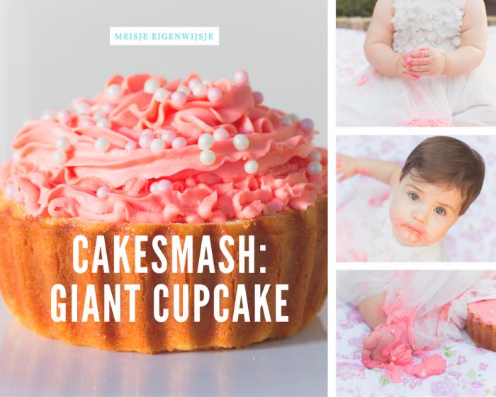 cakesmash_ giant cupcake