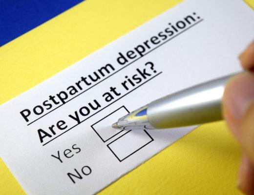bang voor postnatale depressie