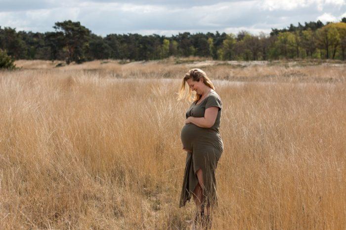 Zwangerschapsshoot met het gezin