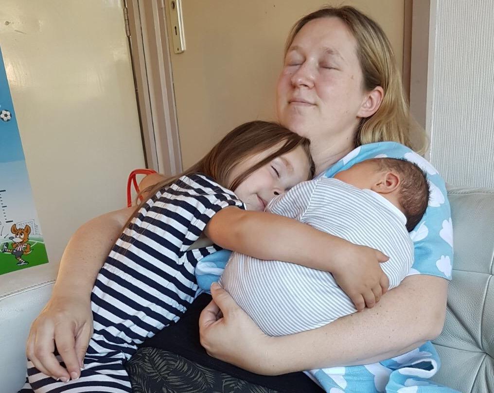 afvallen baby kraamweek
