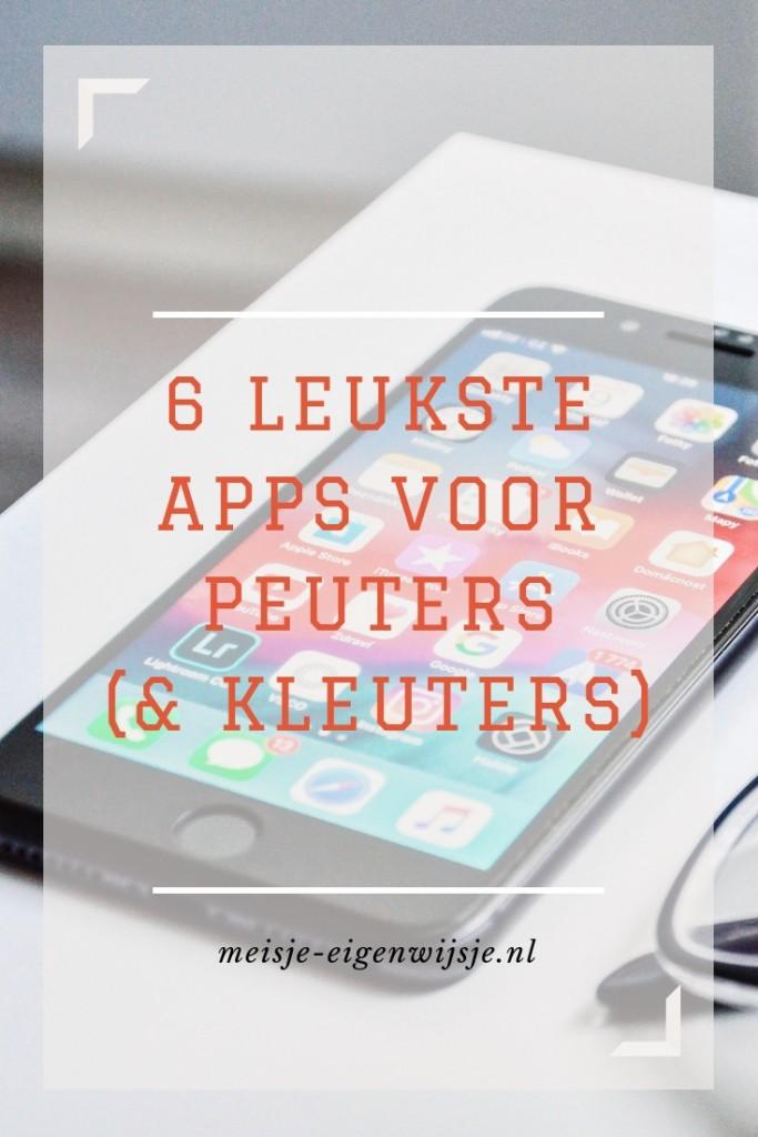 apps voor peuters en kleuters