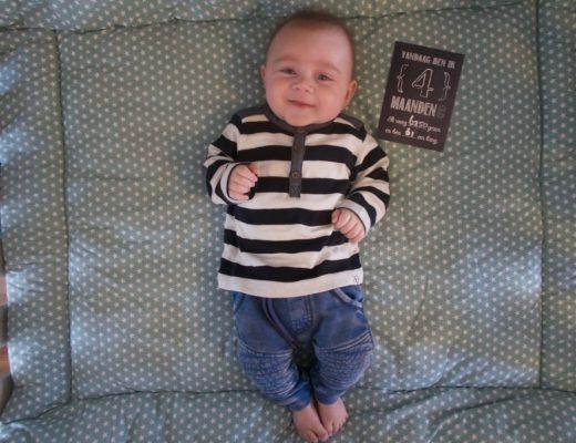 baby 4 maanden