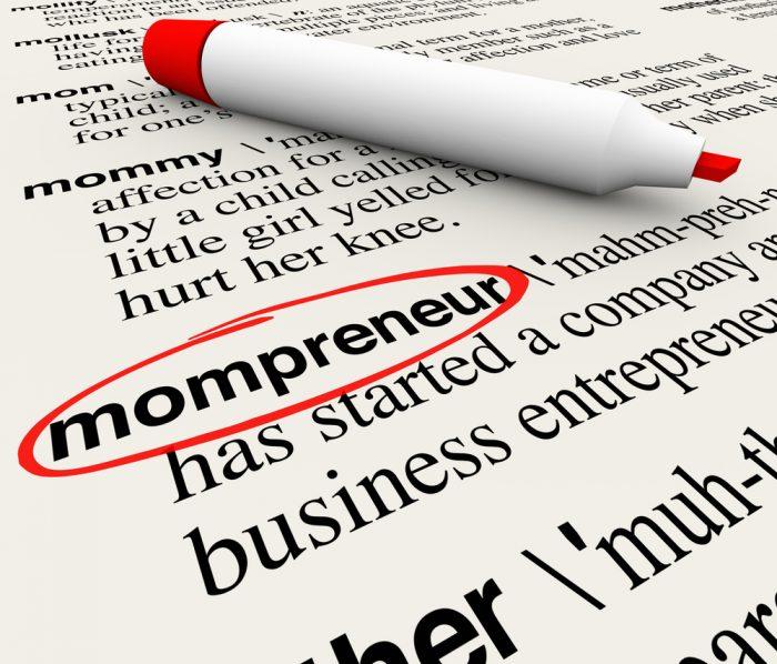mompreneur / ondernemende moeder / business mom / thuiswerkende moeder