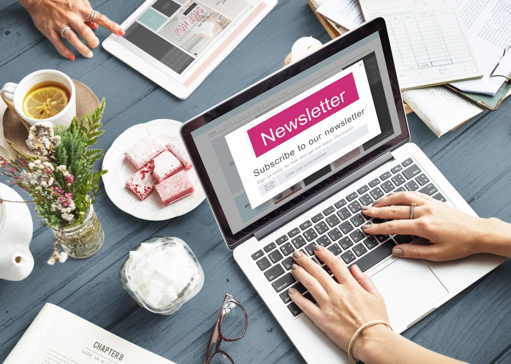 nieuwsbrief voor bloggers
