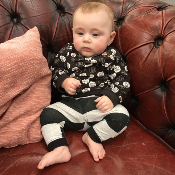 slaap- en eetschema baby 5 maanden
