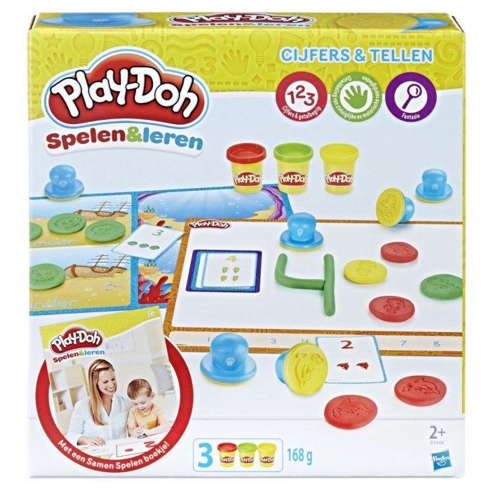 Play-doh cijfers & tellen