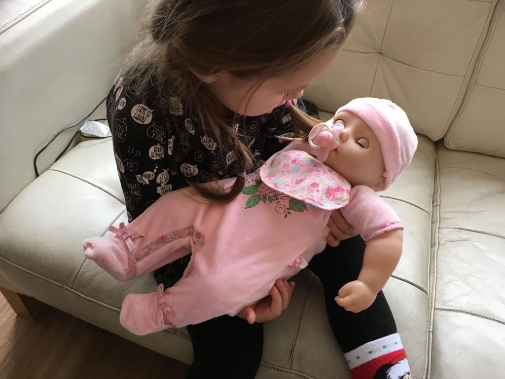 baby annabell echte baby
