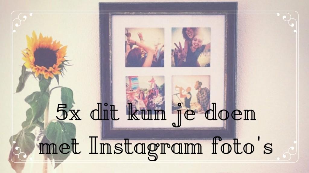 instagram foto's printagreat