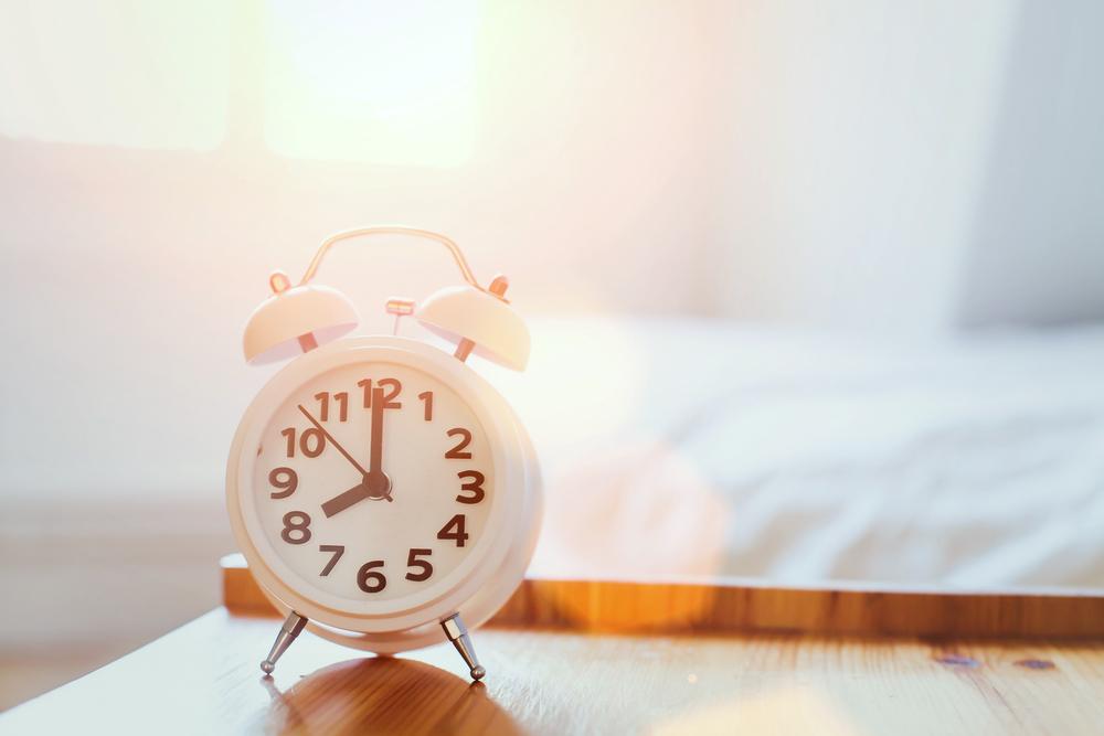 slapend rijk wekker