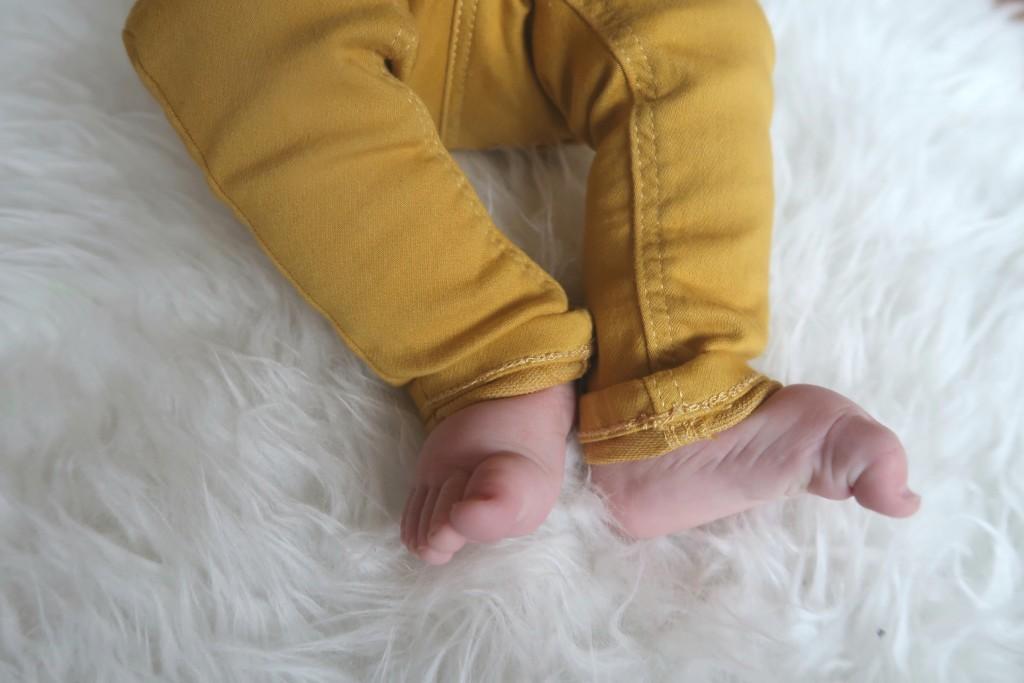 baby denimbroeken hema
