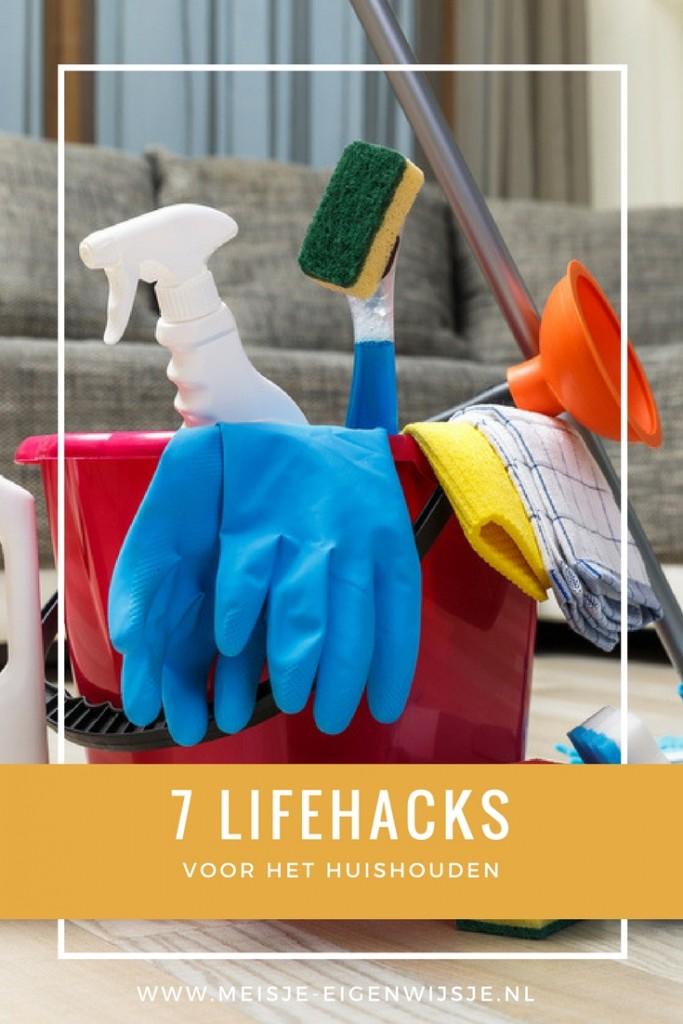 7 lifehacks voor het huishouden