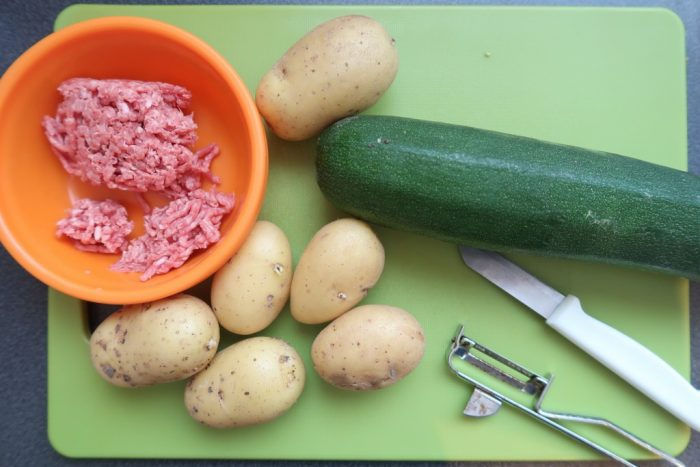 recept babyhapjes courgette