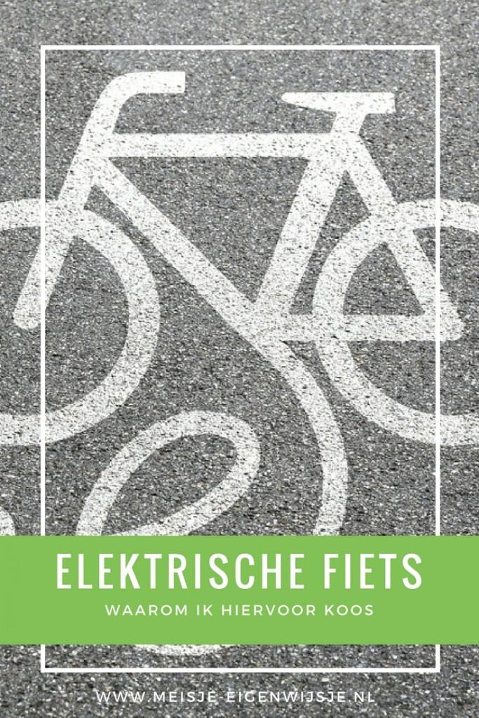elektrische fiets waarom