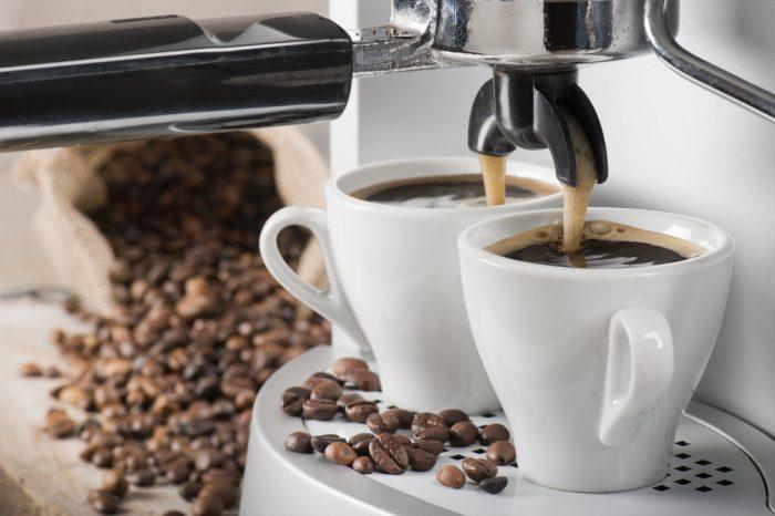 thuiswerken koffie apparaat