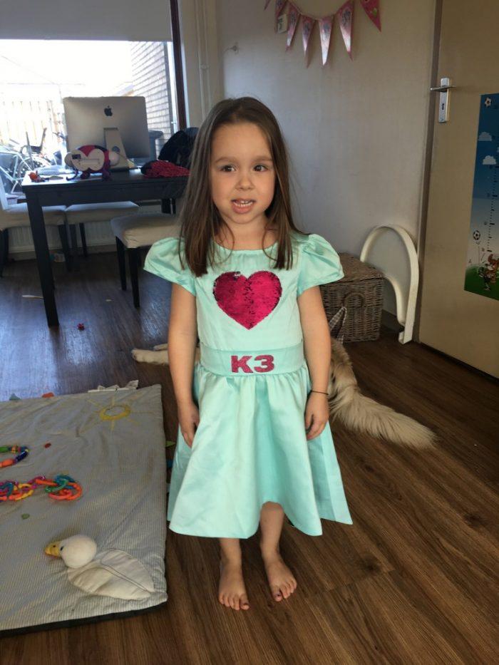 Nieuw k3 jurkje