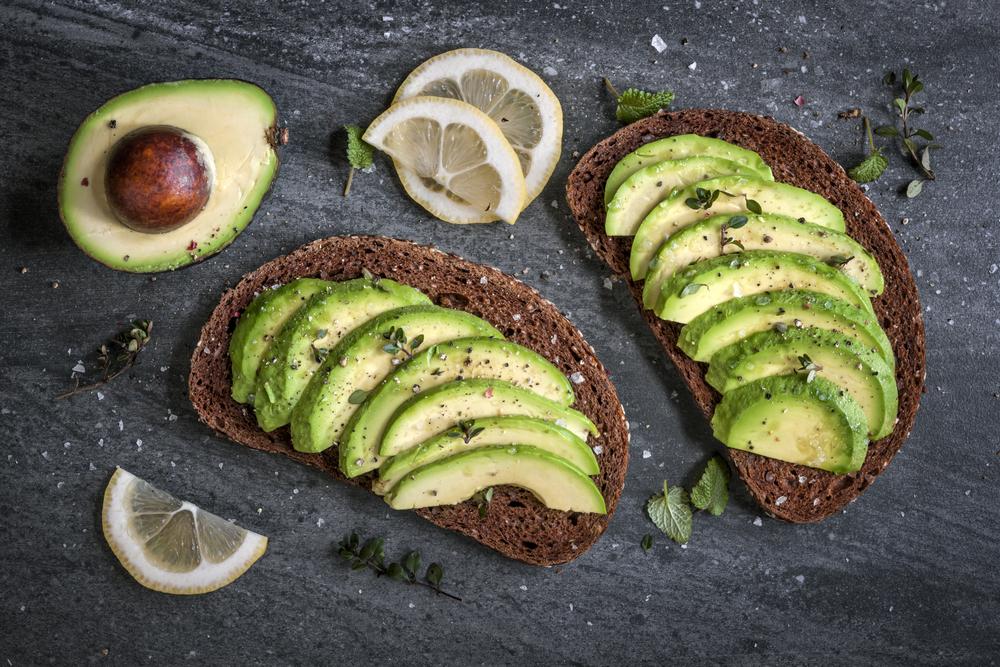 boterham met avocado