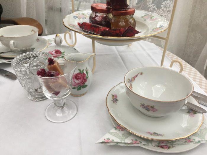 england's pride high tea