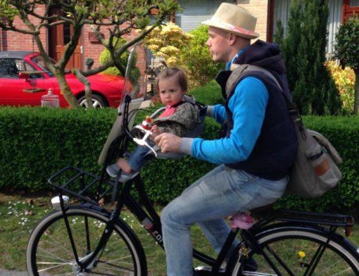 fietstochtjes met een baby