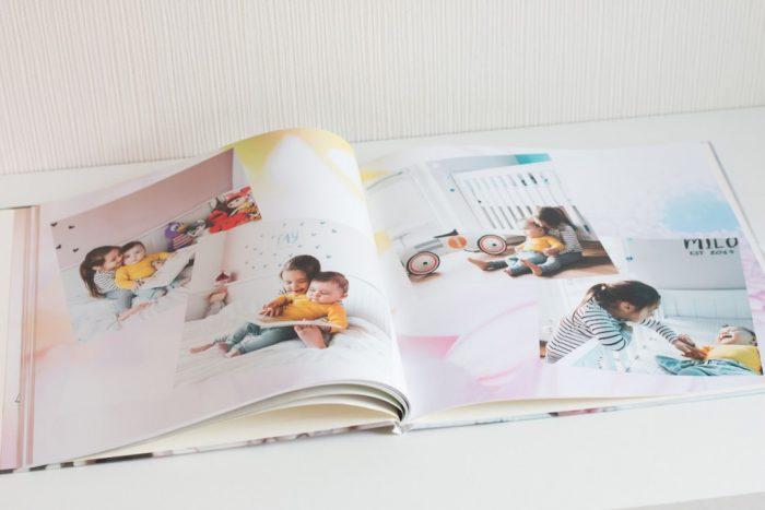fotoboek twee kinderen
