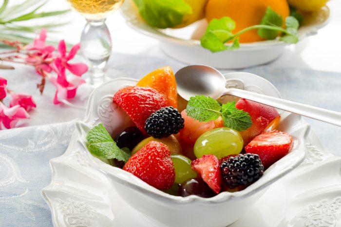 fruitsalade paasbrunch