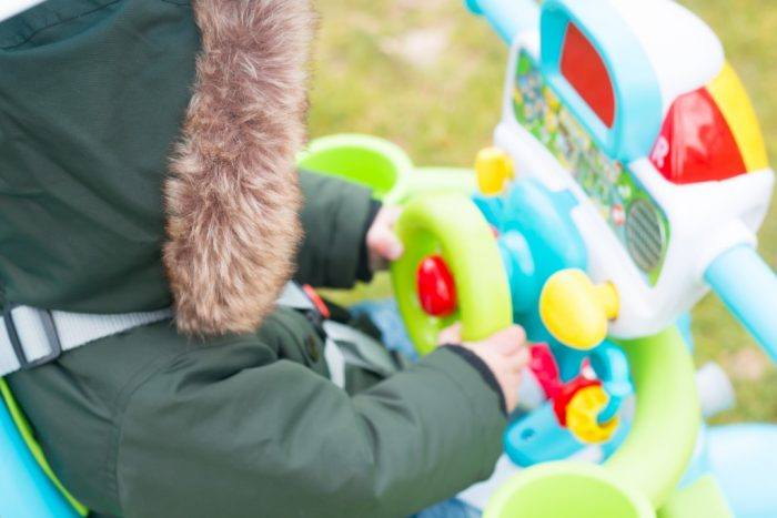 review vtech super trike