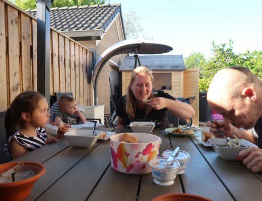 tijd voor het gezin familiemoment
