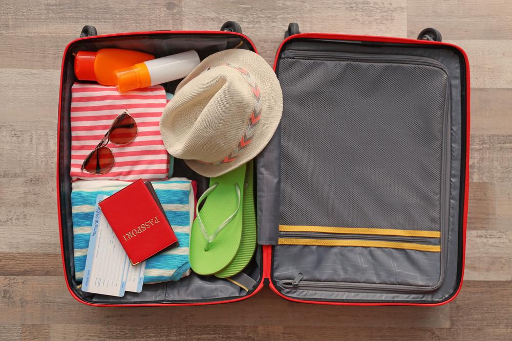 inpaklijst op vakantie