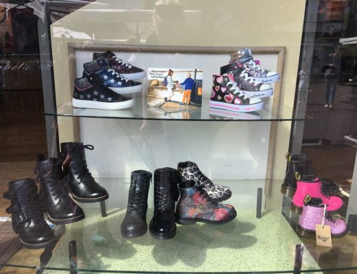Nieuwe collectie schoenen voor meisjes