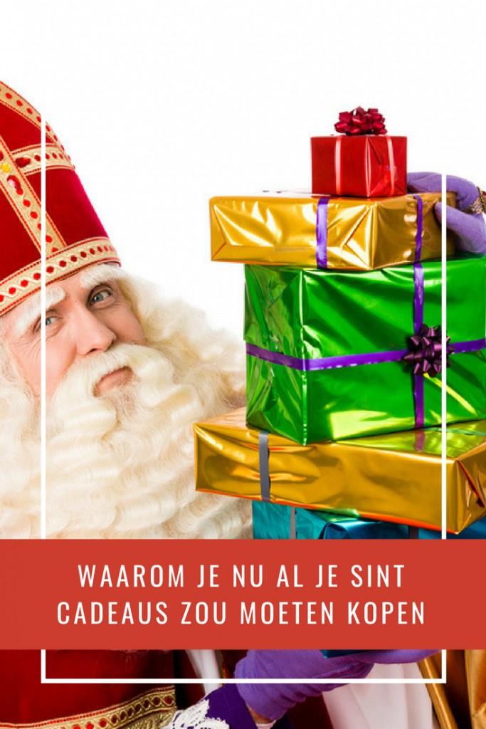 Waarom je nu al je Sint cadeaus zou moeten kopen