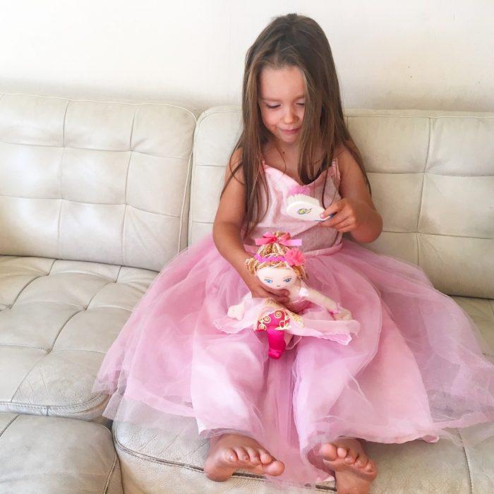 twinnen met je pop souza verkleedkleding prinsessenjurk