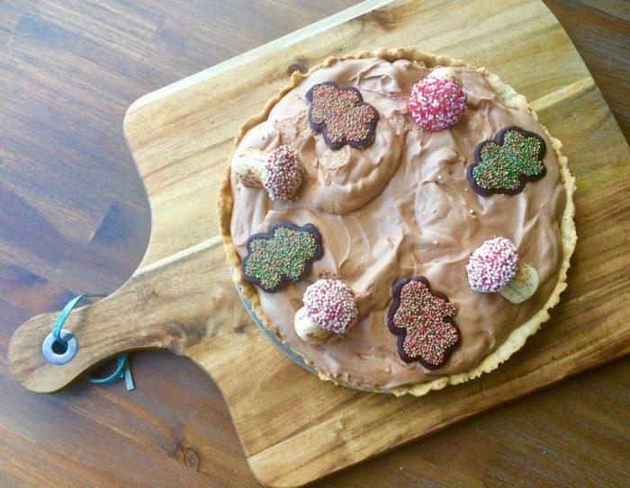 herfsttaart zeezout caramel - herfst taart