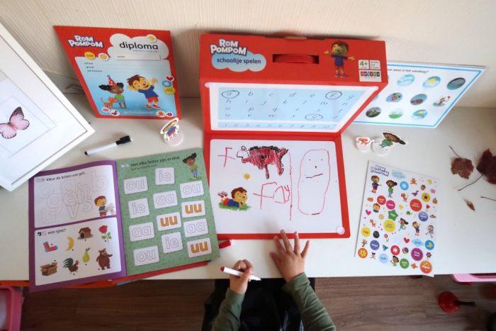 Speel en leer Schooltje spelen van Rompompom